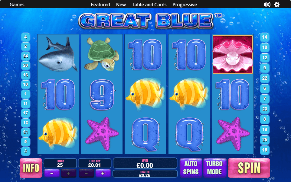 Great Blue Slot
