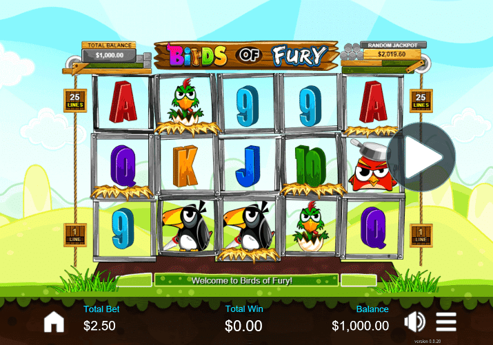 Birds of Fury Slot