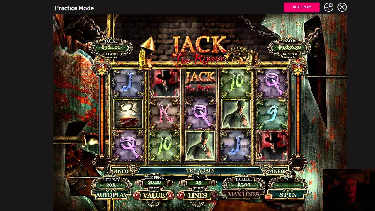 Jack the Ripper Slot