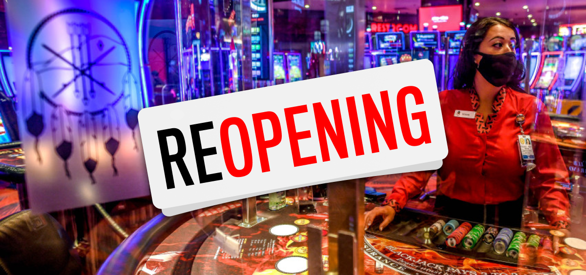 Casinos reopening after the lockdown