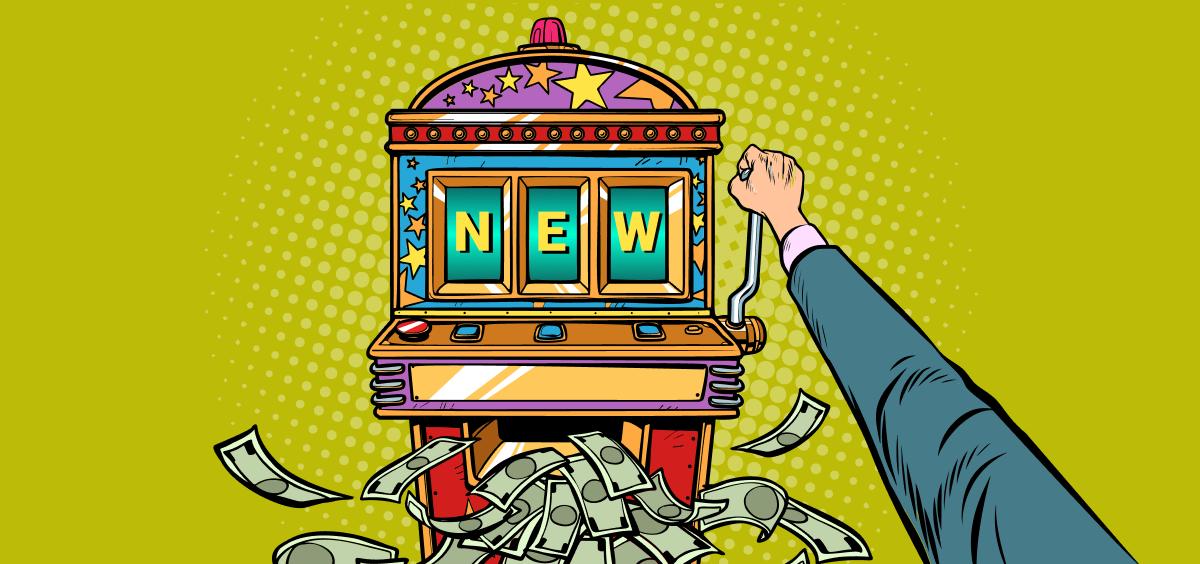 three new slot games for feb