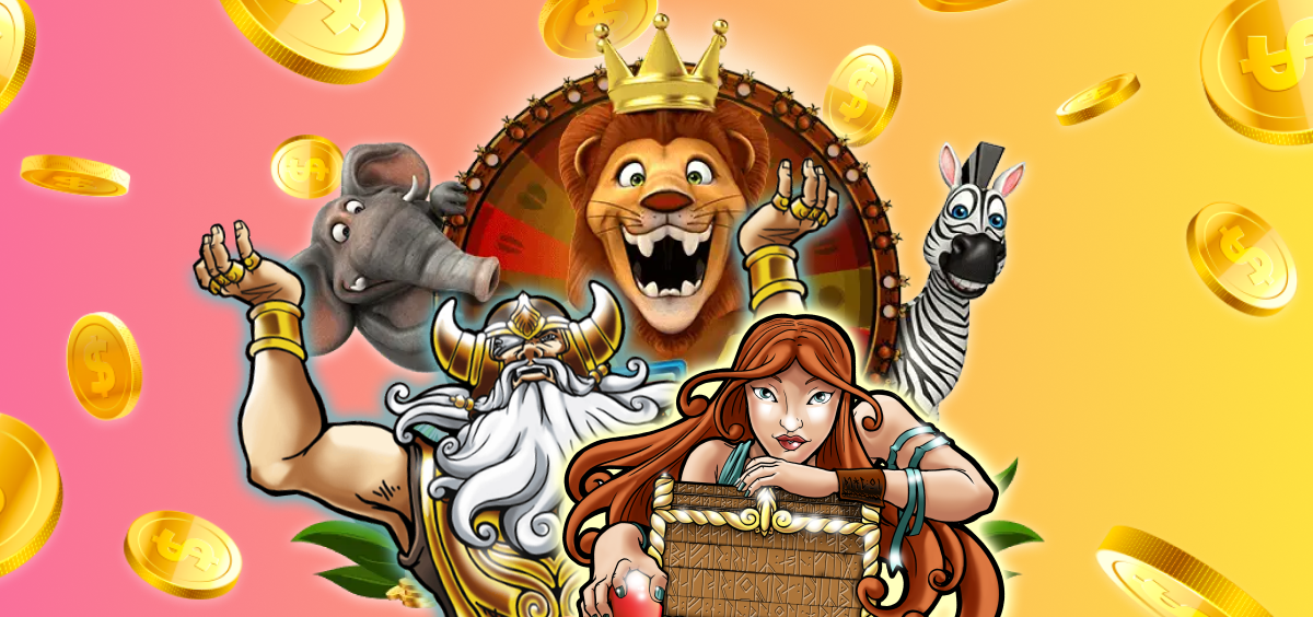 Mega moolah and Hall of Gods slot jackpots
