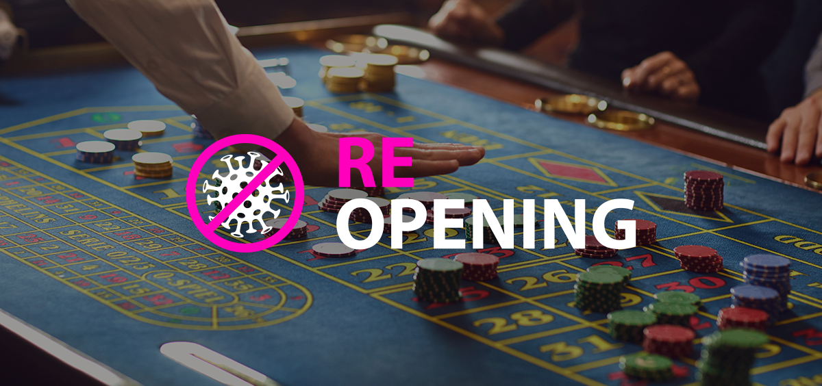 Casinos reopening on May 17th